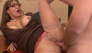 Clothed sex with my teacher Mrs. Ava Devine