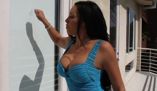 She asks him to try out her soaked clit to see if it`s broken