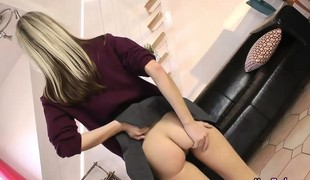 Schoolgirl amateur strip and pity