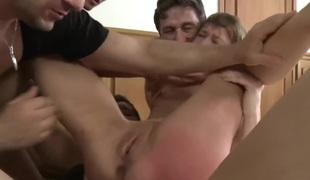Brutal BDSM Double Penetration Gangbang! vol.53 By: FTW88