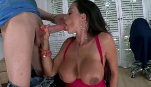 Chachita Ariella Ferrera with big hot goods gets cum moist in crazy cumshot scene