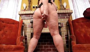Huge titted plumper Nuns fucks with big toys.