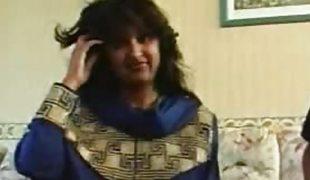 Beautiful indian interviewed