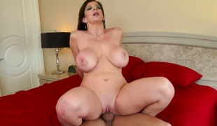 Mr. Pete uses his hard 10-Pounder to bring Sara Jay to the height of fun