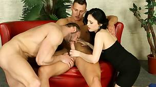 Bisexual playgirl gets fucked
