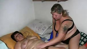 Granny acquires her body all cleaned up