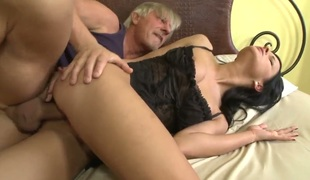 Abbie Make pleasure of is lascivious as hell and fucks in the matter of wild excitement in this anal penetration action