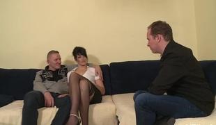 MMV FILMS Anal penetration German babe
