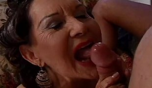 Brunette granny wants hairy natural orgasms