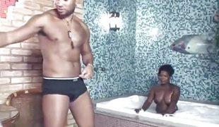 Rough sex raven threesome bisexual fuck