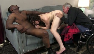 Interracial cuck with sex itchy Sarah Shevon