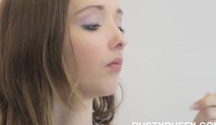 Meet fresh breasty legal age youth star Buffy!