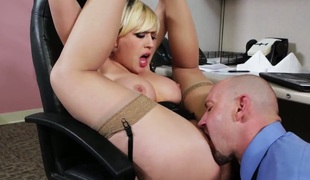 Sexy oriental doll Kagney Linn Karter and her hot fuck buddy Firmness Powers are in the mood for fucking
